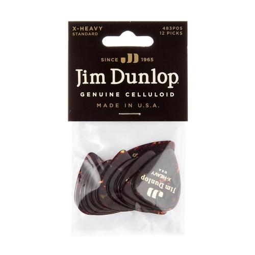 Dunlop 483P05MD Plectrum 12-Pack Medium