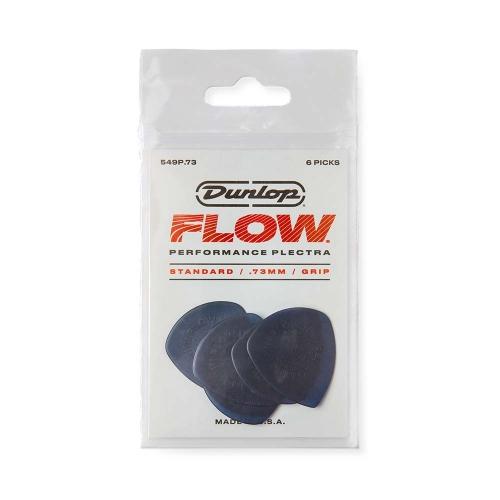Dunlop 549P073 Flow Standaard 0.73mm Plectrum 6-Pack