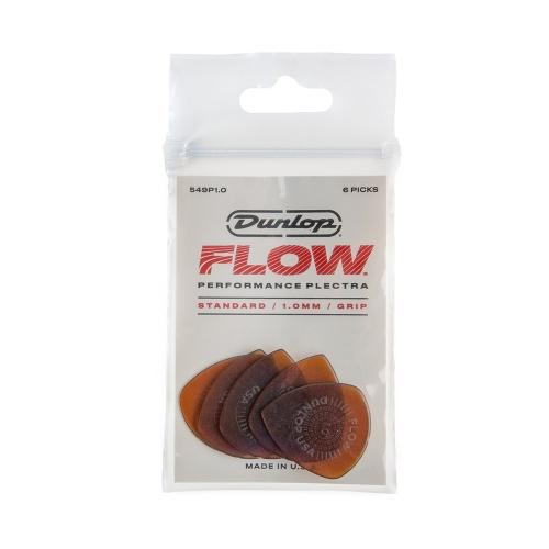 Dunlop 549P100 Flow Standaard 1.0mm Plectrum 6-Pack