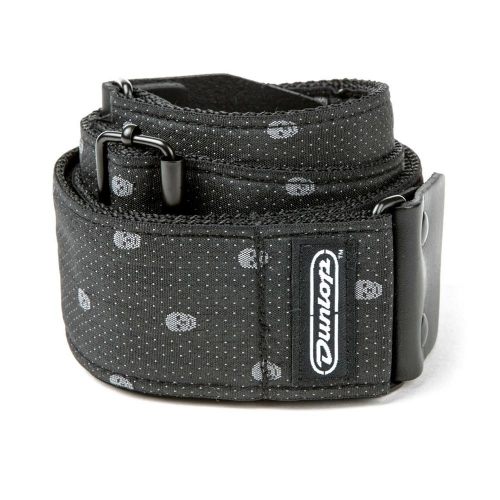 Dunlop D6707 Grey Skull Jacquard Gitaarband