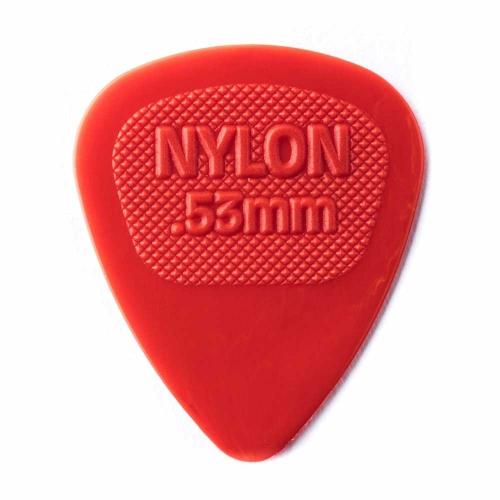 Dunlop Nylon Midi Plectrum 0.53mm - Per Stuk