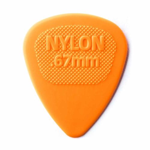 Dunlop Nylon Midi Plectrum 0.67mm - Per Stuk