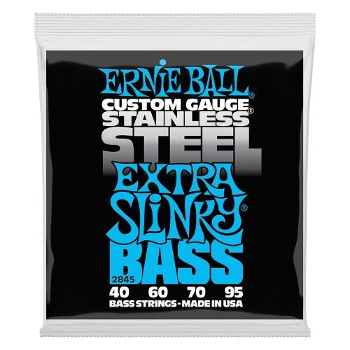 Ernie Ball 2845 Extra Slinky Stainless Steel Bassnaren (40-95)