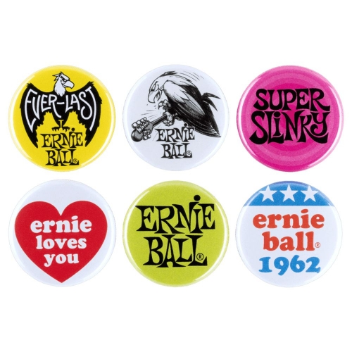 Ernie Ball 4009 Set van 6 Buttons