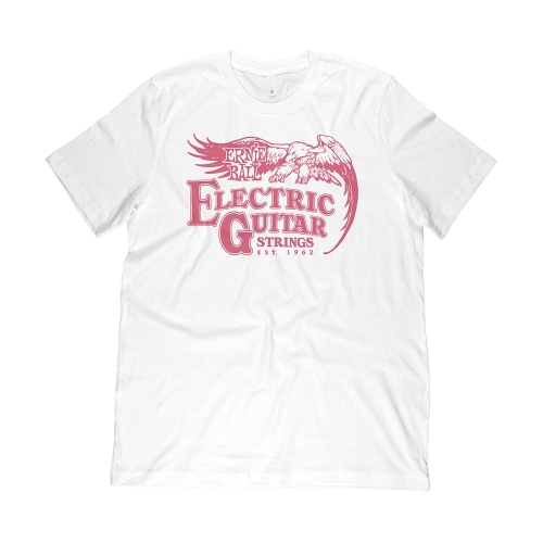 Ernie Ball 4868 Ernie Ball Guitar Strings 1962 T-Shirt Rood - Large
