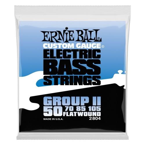 Ernie Ball 2804 Group II Flatwound Bassnaren (50-105)
