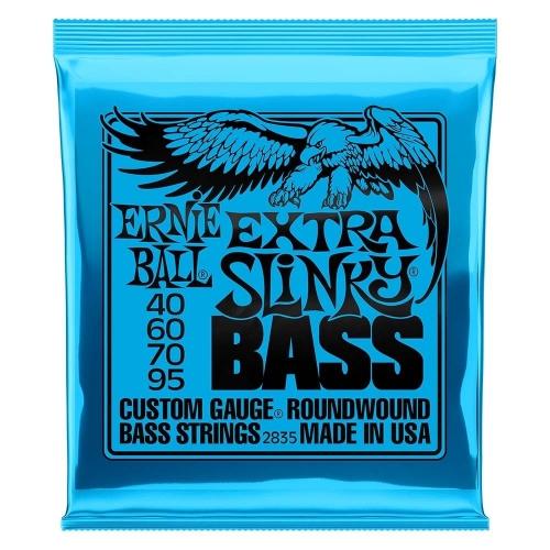 Ernie Ball 2835 Extra Slinky Snaren voor Elektrische Basgitaar (40-95)
