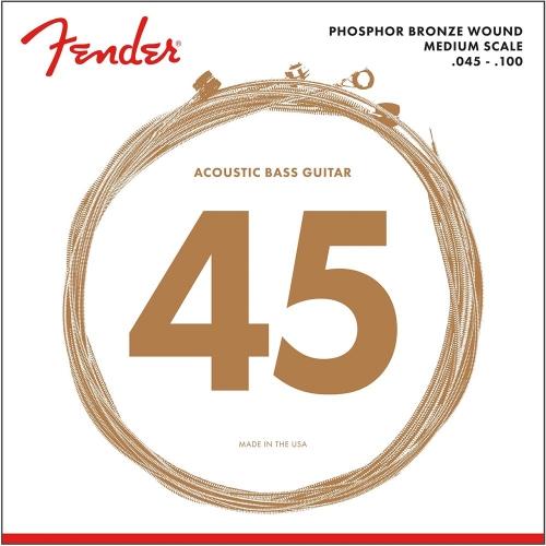 Fender 7060 Akoestische Bassnaren Medium Scale (45-100)