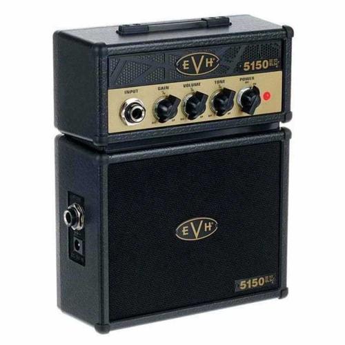 Fender EVH 5150 Micro Stack Mini Gitaarversterker Goud en Zwart 0223534100