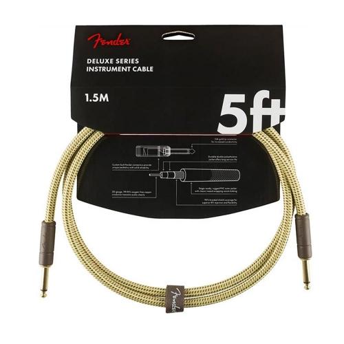 Fender Gitaarkabel Professional Series 4.5 Meter - Recht/Haakse Plug