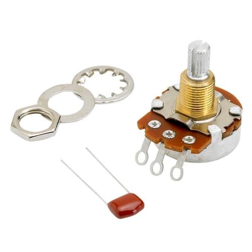 Fender Potmeter - Original 500K Split Shaft 0990834000