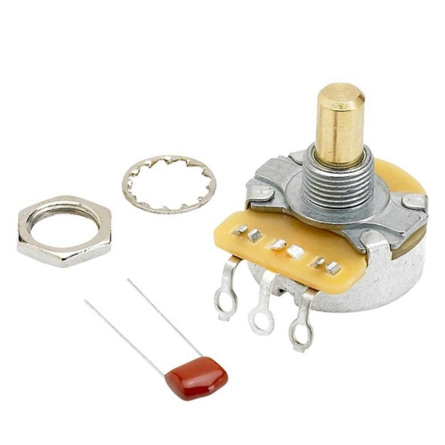 Fender Potmeter Toon/Volume 250K Solid Shaft 0990831000