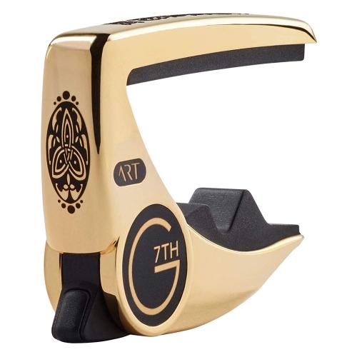 G7th Performance 3 Capo voor Elektrische en Akoestische Gitaar - Celtic Gold