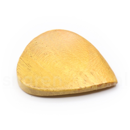 GaiaPicks GP001PE Peach Wood Plectrum