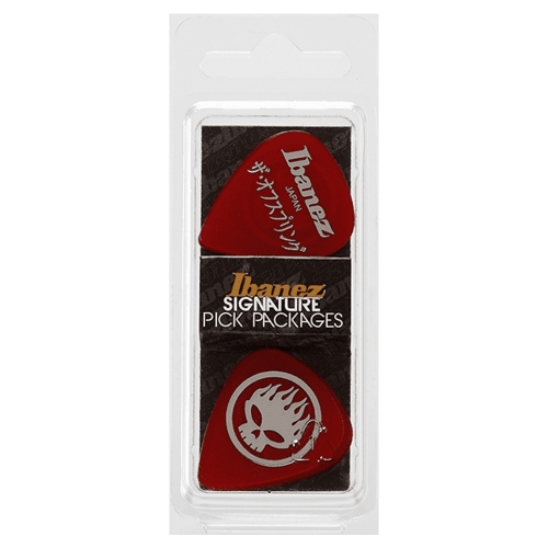 Ibanez BOS-RD The Offspring PVC 1.0mm Plectrum 6-Pack - Rood