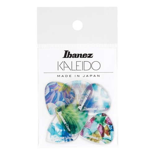 Ibanez PCP16XH-C2 Kaleido Jazz III 1.2mm Plectrum 6-Pack