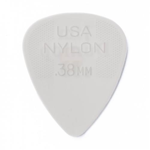 Dunlop 44R38 Nylon Plectrums 0.38mm 72-Pack