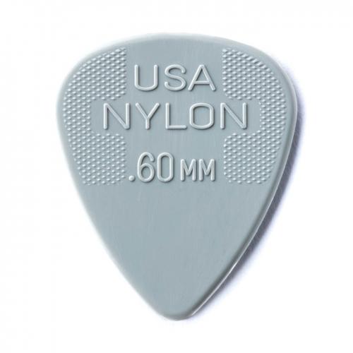 Dunlop 44R60 Nylon Plectrums 0.60mm 72-Pack