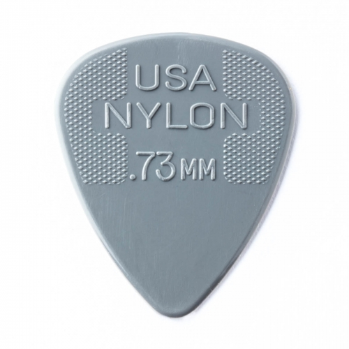 Dunlop 44R73 Nylon Plectrums 0.73mm 72-Pack