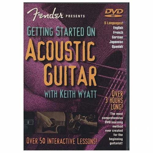 DVD Getting Started on Acoustic Guitar