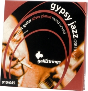 Galli GSB10 Gypsy Jazz gitaarsnaren - Light (10-45)