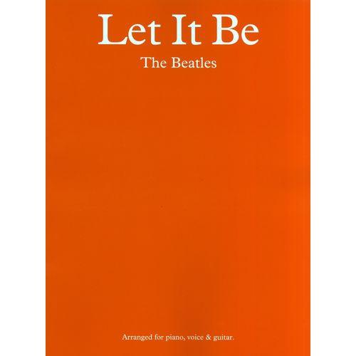 The Beatles - Let it Be - Songboek