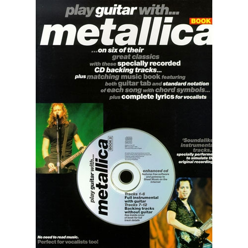 Play Guitar with Metallica - SongBoek 2