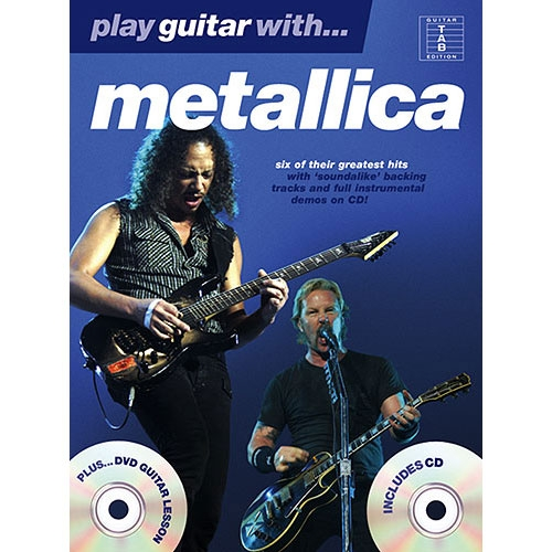 Play Guitar With Metallica - Songboek 1