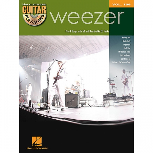 Weezer Guitar Play Along + CD