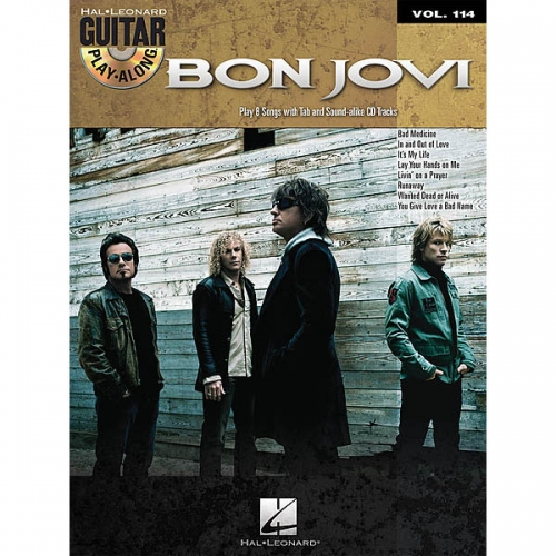 Bon Jovi Guitar Play Along + CD