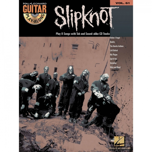 Slipknot Guitar Playalong + CD