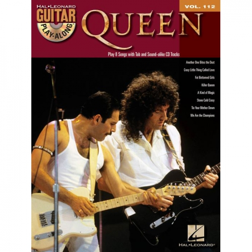 Queen Guitar Playalong + CD