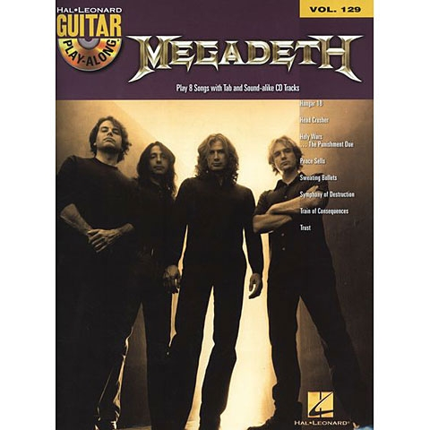 MegaDeath Guitar Playalong + CD