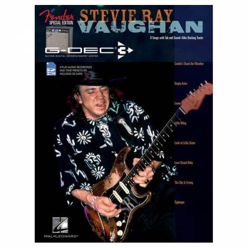 Stevie Ray Vaughan Guitar Play Along + CD