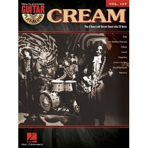 cream gitaarboek met cd