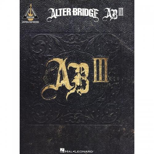 alter bridge ab III songboek