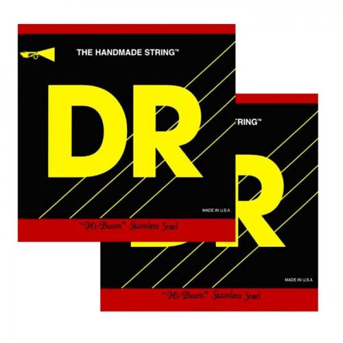 DR MR5-45 Hi-Beam Bassnaren 5-Snarig (45-125) 2-Pack