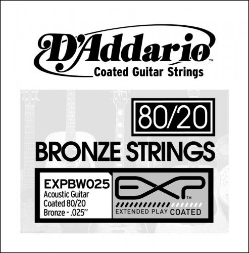 D'Addario EXPBW025 losse snaar voor western gitaar