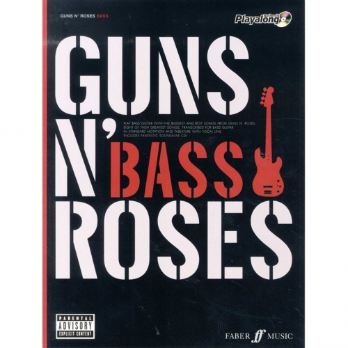 Guns' en Roses greatest hits voor basgitaar
