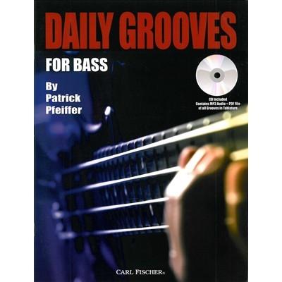 daily grooves lesboek voor basgitaar