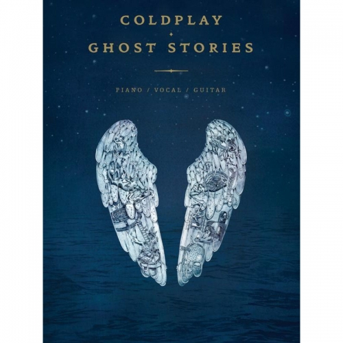 Songboek Ghost Stories van ColdPlay in TAB notatie voor gitaar