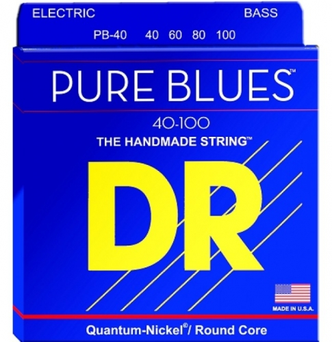 DR PB40 Pure Blues Bassnaren Long Scale (40-100)