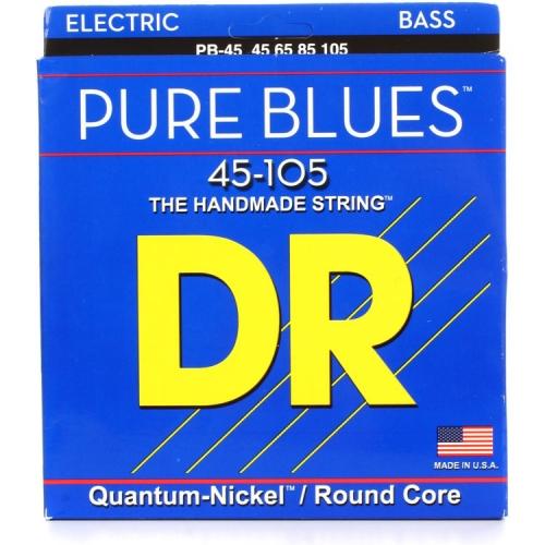 dr pb45 pure blues bassnaren kopen