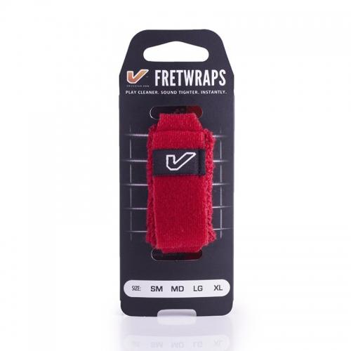 Gruvgear FW-1PK-RED-MD Fretwraps Fire Rood Medium 1-Pack