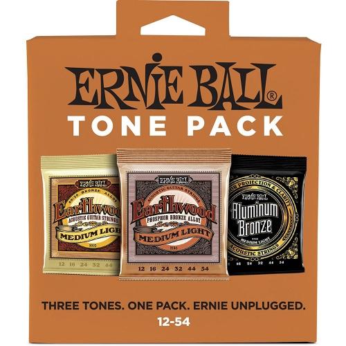Ernie Ball 3313 Tonepack Acoustic Medium/Light 12-54