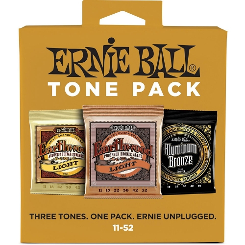Ernie Ball 3314 Tonepack Akoestisch / Acoustic Light (11-52)