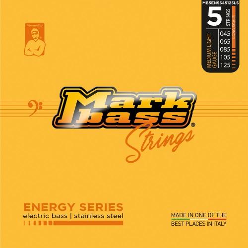 Markbass MB5ENSS45125LS Energy Series Bassnaren 5-Snarig Long Scale (45-125)