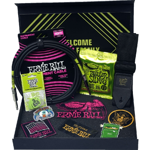 Ernie Ball Giftpack voor Elektrisch Gitaristen