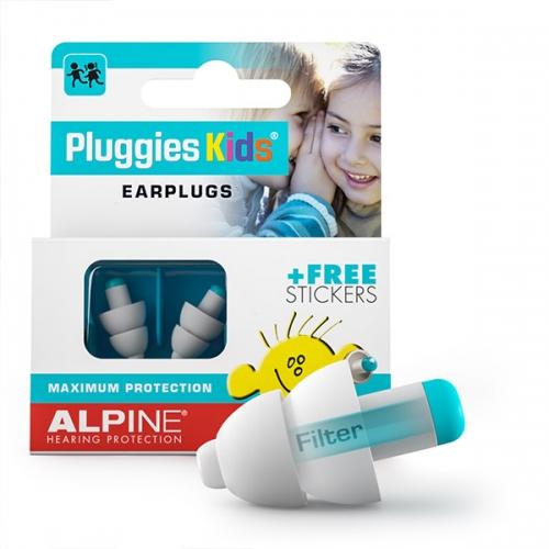 Alpine Pluggies Oordoppen voor Kinderen (3-12 jaar)
