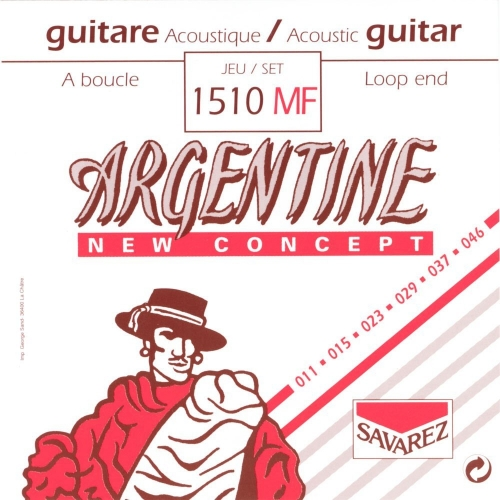 argentine 1510mf gypsy jazz snaren